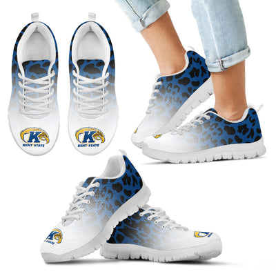 Leopard Pattern Awesome Kent State Golden Flashes Sneakers