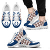 Great Football Love Frame Indianapolis Colts Sneakers