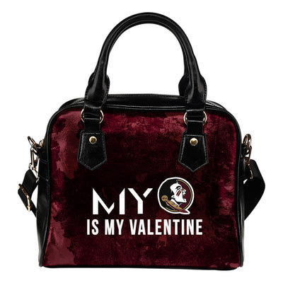 My Love Valentine Fashion Florida State Seminoles Shoulder Handbags