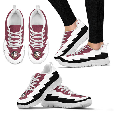 Beautiful Florida State Seminoles Sneakers Jagged Saws Creative Draw