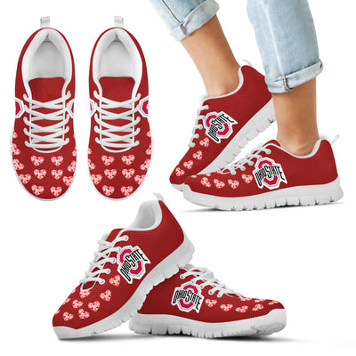 Love Extreme Emotion Pretty Logo Ohio State Buckeyes Sneakers