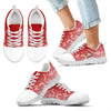 Heart Flying Valentine Sweet Logo St. Louis Cardinals Sneakers