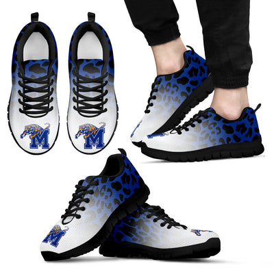 Leopard Pattern Awesome Memphis Tigers Sneakers