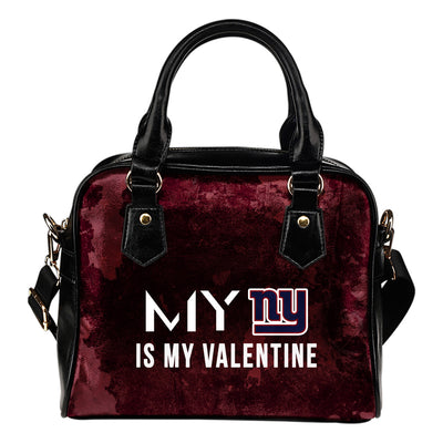 My Perfectly Valentine Fashion New York Giants Shoulder Handbags