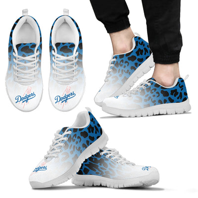Leopard Pattern Awesome Los Angeles Dodgers Sneakers