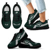 New York Jets Line Logo Sneakers
