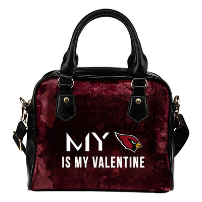 My Perfectly Love Valentine Fashion Arizona Cardinals Shoulder Handbags