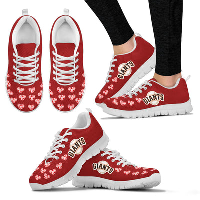 Love Extreme Emotion Pretty Logo San Francisco Giants Sneakers