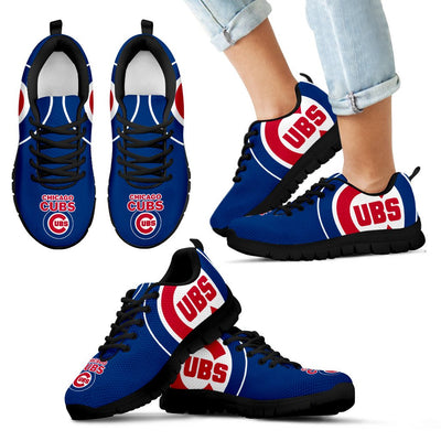 Gorgeous Logo Chicago Cubs Sneakers