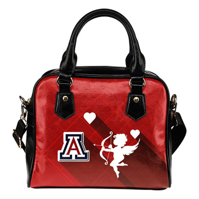 Superior Cupid Love Delightful Arizona Wildcats Shoulder Handbags