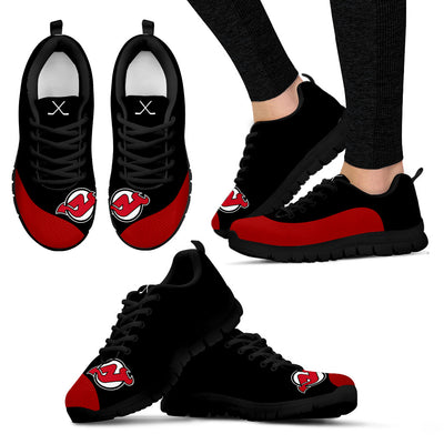 Valentine Love Red Colorful New Jersey Devils Sneakers
