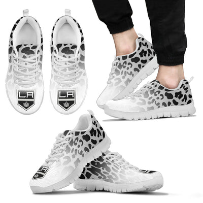 Beautiful Los Angeles Kings Sneakers Leopard Pattern Awesome