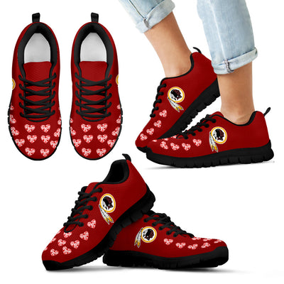 Love Extreme Emotion Pretty Logo Washington Redskins Sneakers