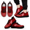 Love Extreme Emotion Pretty Logo Detroit Red Wings Sneakers