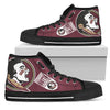 Straight Outta Florida State Seminoles High Top Shoes