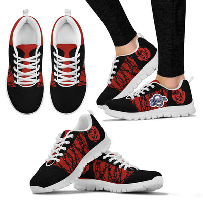 Rose Plant Gorgeous Lovely Logo Milwaukee Brewers Sneakers
