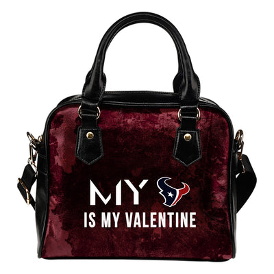 My Perfectly Love Valentine Fashion Houston Texans Shoulder Handbags