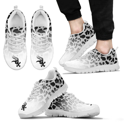 Leopard Pattern Awesome Chicago White Sox Sneakers
