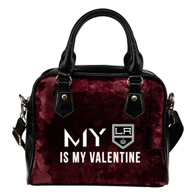 My Perfectly Valentine Fashion Los Angeles Kings Shoulder Handbags