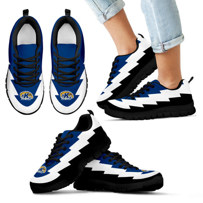 Best Kent State Golden Flashes Sneakers Jagged Saws Creative Draw