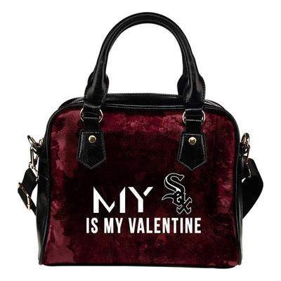 My Perfectly Love Valentine Fashion Chicago White Sox Shoulder Handbags