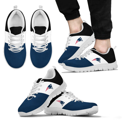 Separate Colours Section Superior New England Patriots Sneakers
