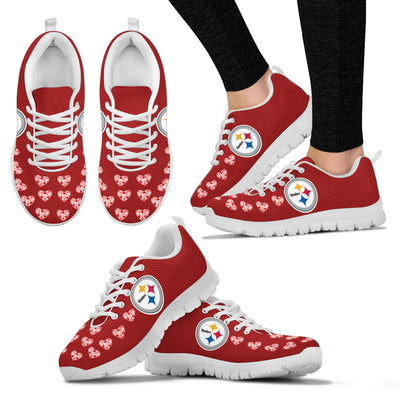 Love Extreme Emotion Pretty Logo Pittsburgh Steelers Sneakers
