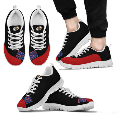 Valentine Love Red Colorful New York Giants Sneakers