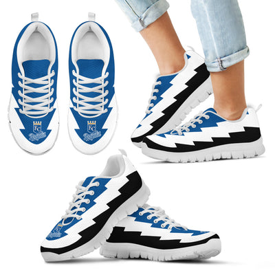 Gorgeous Kansas City Royals Sneakers Jagged Saws Creative Draw