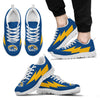 Cool Kent State Golden Flashes Sneakers Thunder Lightning Amazing Logo