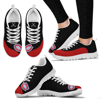 Valentine Love Red Colorful Montreal Canadiens Sneakers