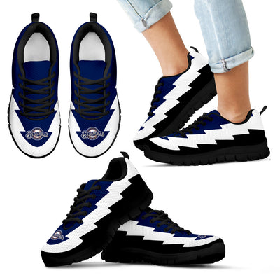 Wonderful Milwaukee Brewers Sneakers Jagged Saws Creative Draw