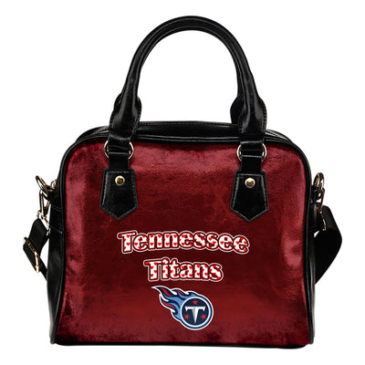 Love Icon Mix Tennessee Titans Logo Meaningful Shoulder Handbags