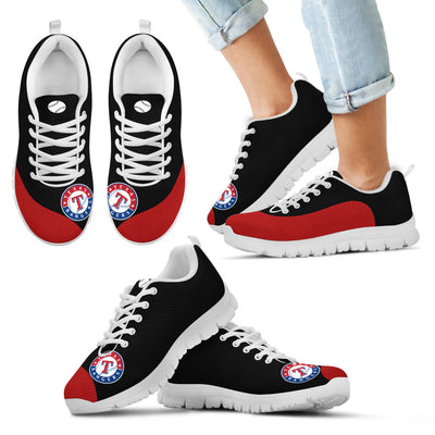 Valentine Love Red Colorful Texas Rangers Sneakers