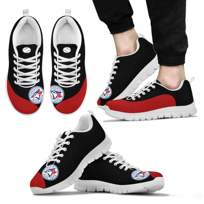 Valentine Love Red Colorful Toronto Blue Jays Sneakers