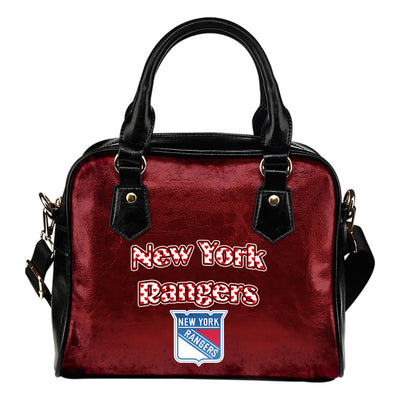 Love Icon Mix New York Rangers Logo Meaningful Shoulder Handbags