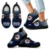 Colorful Unofficial Winnipeg Jets Sneakers