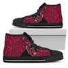 Perfect Cross Color Absolutely Nice Arizona Cardinals High Top Shoes