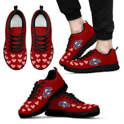 Love Extreme Emotion Pretty Logo Milwaukee Brewers Sneakers