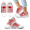 Heart Flying Valentine Sweet Logo Alabama Crimson Tide Sneakers
