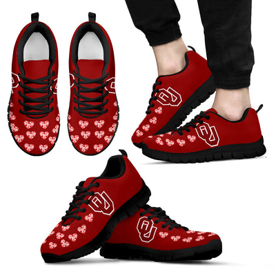 Love Extreme Emotion Pretty Logo Oklahoma Sooners Sneakers