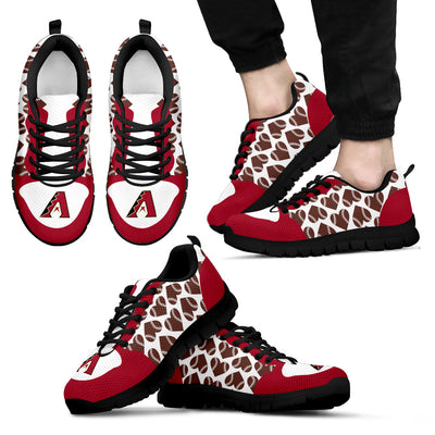 Great Football Love Frame Arizona Diamondbacks Sneakers