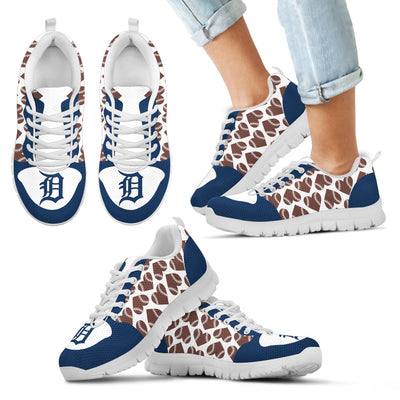 Great Football Love Frame Detroit Tigers Sneakers