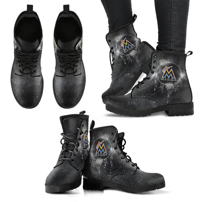 Secret Green Sun And Moon Dreamcatcher Miami Marlins Boots