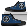 I Can Do All Things Through Christ Who Strengthens Me San Diego Padres High Top Shoes