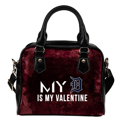 My Perfectly Love Valentine Fashion Detroit Tigers Shoulder Handbags