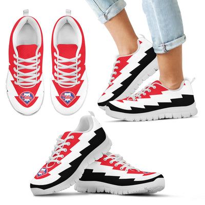 Beautiful Philadelphia Phillies Sneakers Jagged Saws Creative Draw