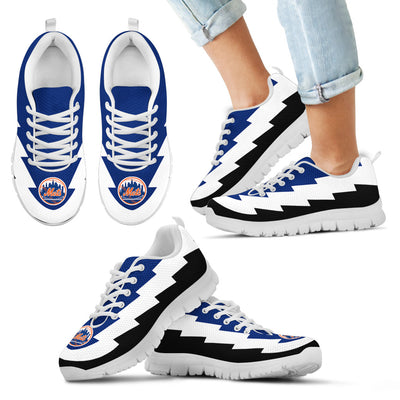 Best Incredible New York Mets Sneakers Jagged Saws Creative Draw