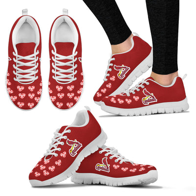 Love Extreme Emotion Pretty Logo St. Louis Cardinals Sneakers