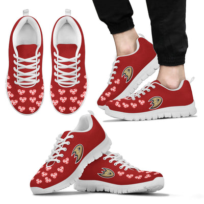 Love Extreme Emotion Pretty Logo Anaheim Ducks Sneakers